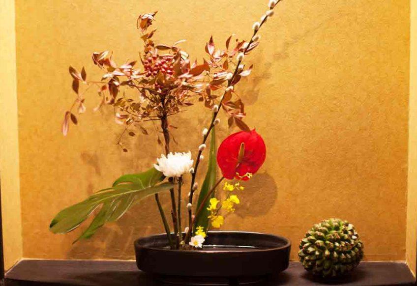 宮古島の四季の生け花